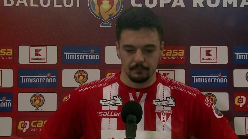 "REZUMAT | ""U"" Cluj – UTA 2-1. Cupa României, optimi – Sezon 2020-21"