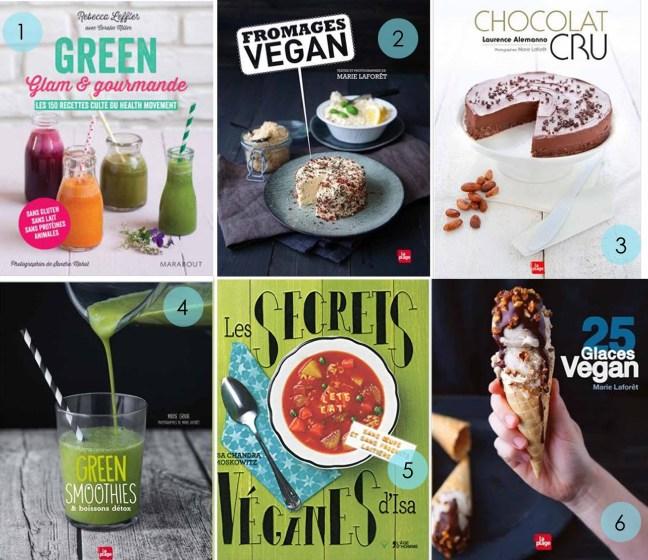 Selection-livres-cuisine-végétarienne-vegan