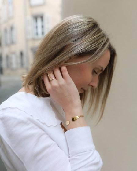 Zoom sur le bracelet Aglaïa & Co