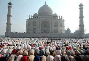 Musulmanes rezando