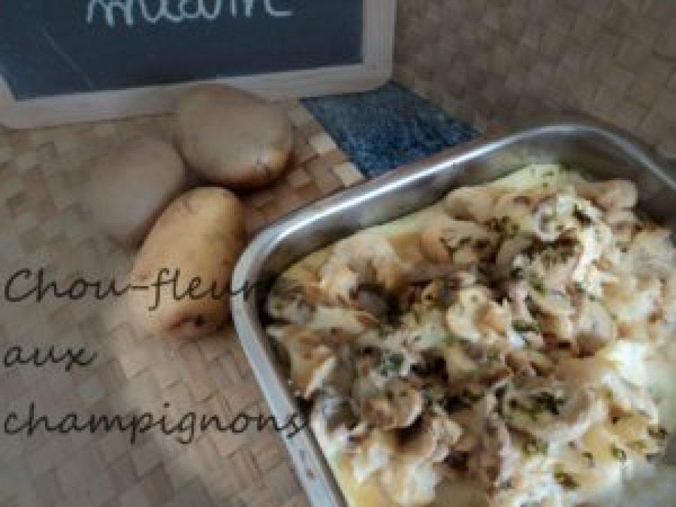 gratin-chou-fleur-champignons