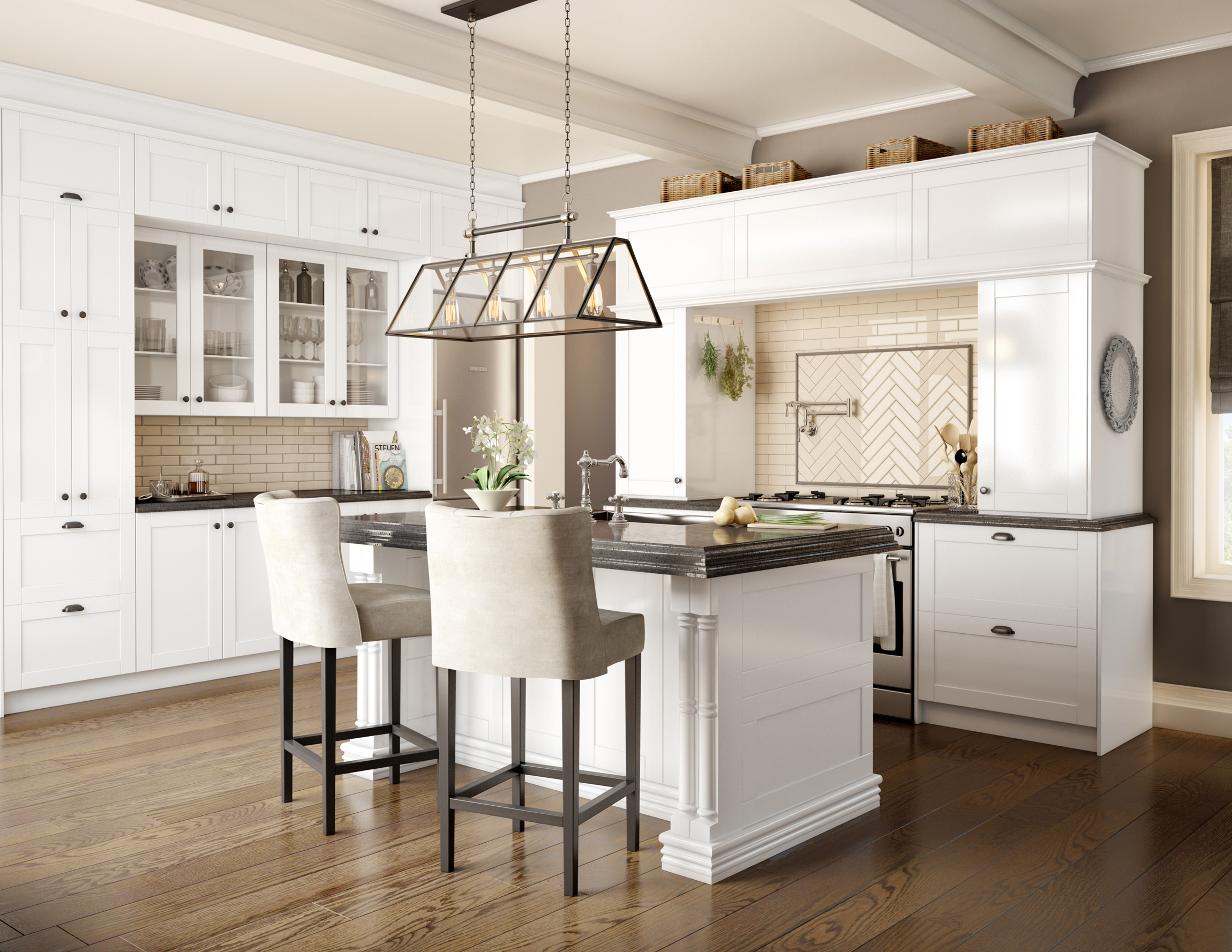 Ready-to-Assemble Kitchen, Bathroom And
