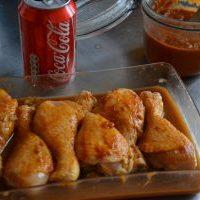 Pilons de poulet caramélisés au coca