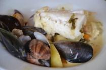 Mix entre la bourride et l'aioli à la sétoise de Madame di Rosa (recette à suivre)