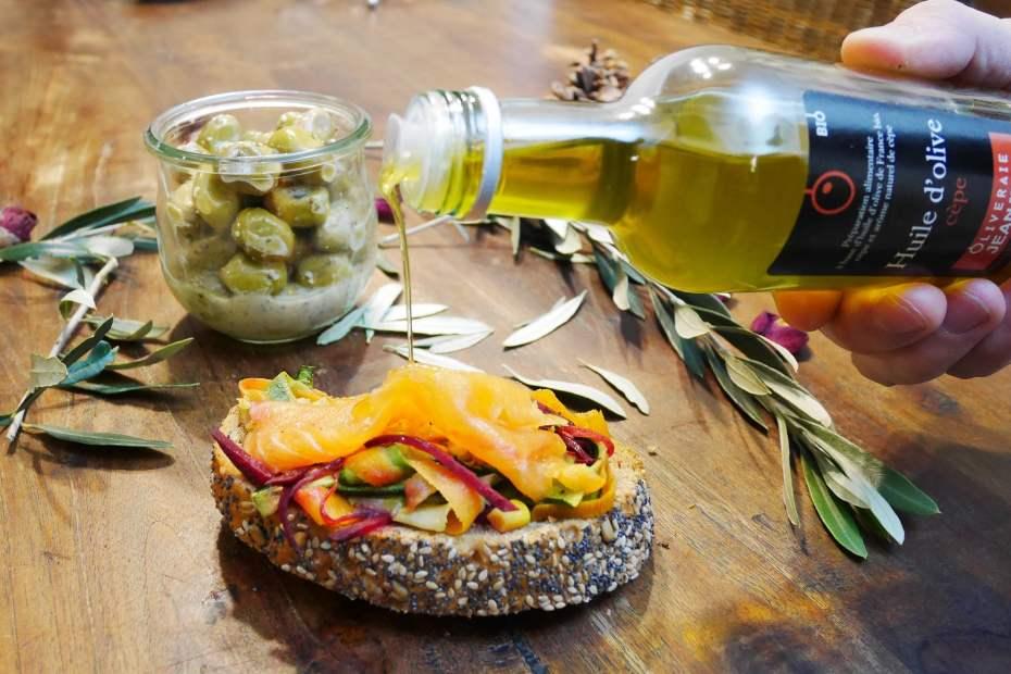 Oliveraie jeanjean huile d'olive cèpe