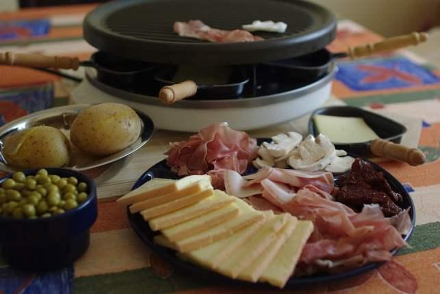 Idée recette pour raclette