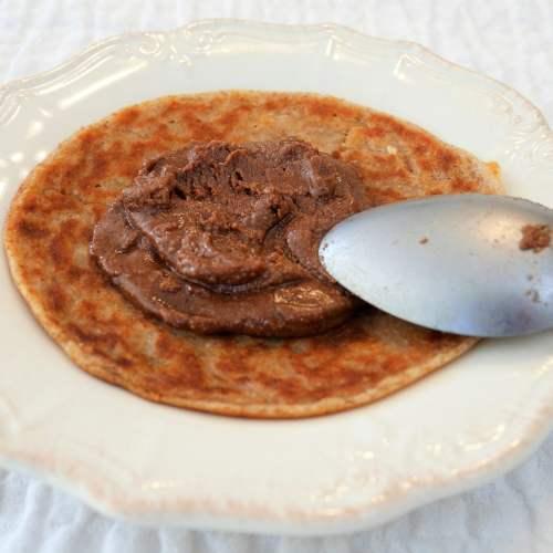 Pâte à tartiner chocolat – noisette vegan