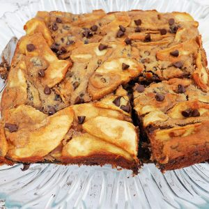 Gâteau invisible pommes chocolat sans gluten