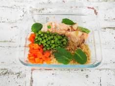 Lunch box du livre En 1 h je cuisine mes Lunch box pour toute la semaine
