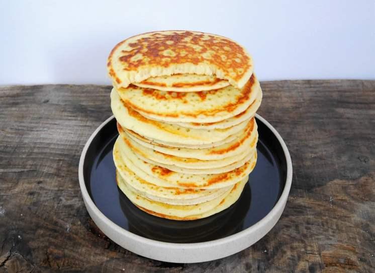 Pancakes avec la préparation Sinépix
