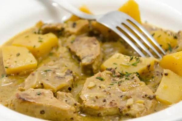 Recette de filet mignon à la moutarde à l'ancienne