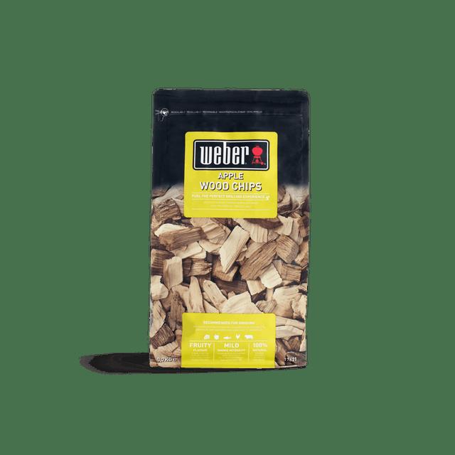 bois de fumage barbecue weber Copeaux de bois de fumage - Pommier apple wood chips