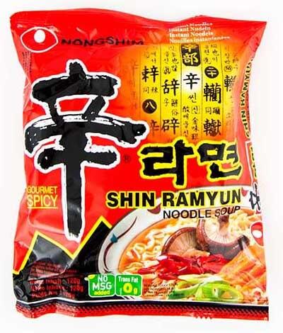 Shin Ramyun Noodle Soup Gourmet Spicy