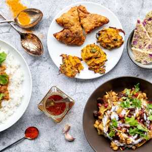 Indian Street Food & Curry Box - The Party Menu