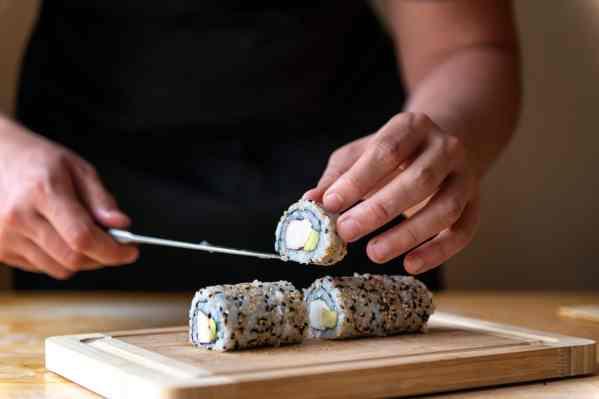 California Sushi Roll Piece