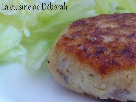 Croquettes de poisson Cuisine de Deborah