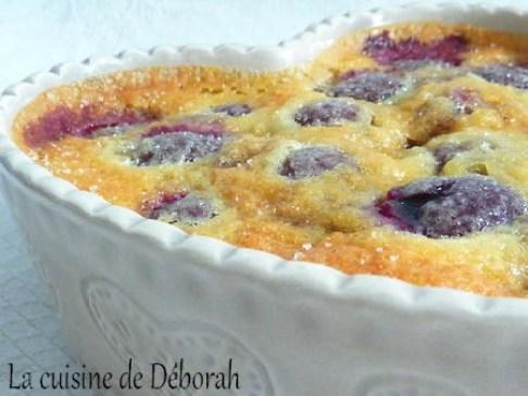 Clafoutis aux cerises    Cuisine de Deborah