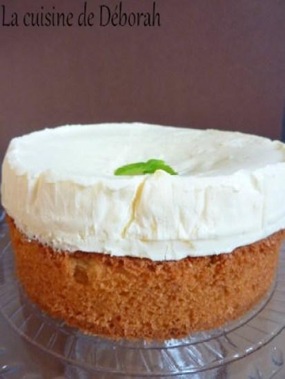 Mousse citron cream-cheese sur sablé Breton   Cuisine de Deborah