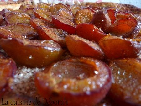 Tarte aux quetsches Alsacienne   Cuisine de Deborah
