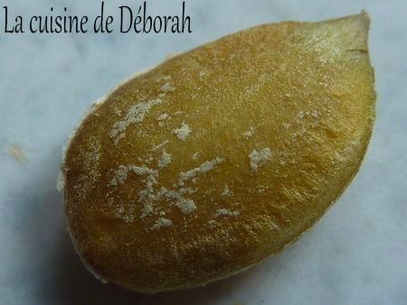 Graines de courges grillées   Cuisine de Deborah