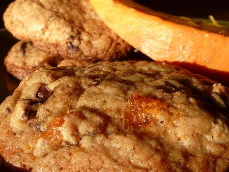 Cookies au potiron caramélisé et pépites de chocolat - Cuisine de Deborah