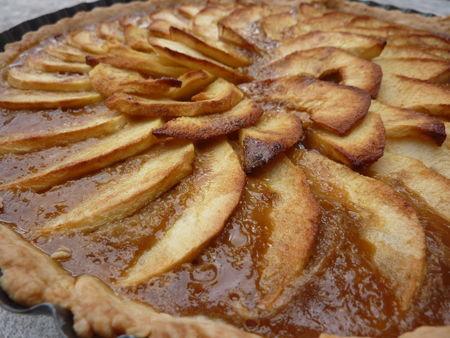 Tarte aux pommes à la vergeoise - Cuisine de Deborah