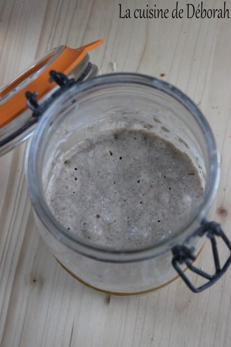 Fabrication d'un levain semi ferme      La cuisine de Deborah
