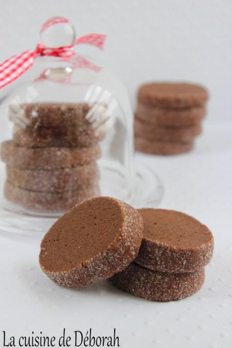 Sablés au chocolat Cuisine de Deborah