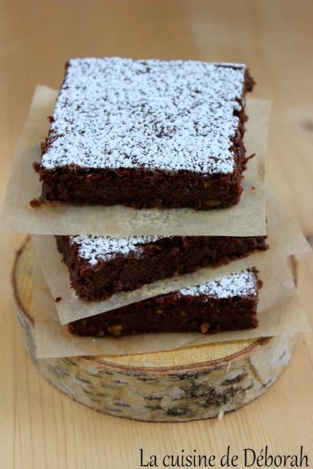 Fondant chocolat-courgette Cuisine de Deborah