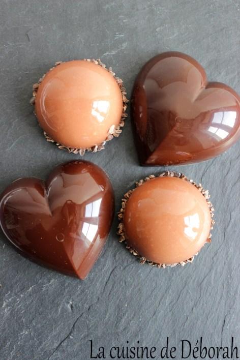 Entremets de la Saint Valentin La cuisine de Deborah