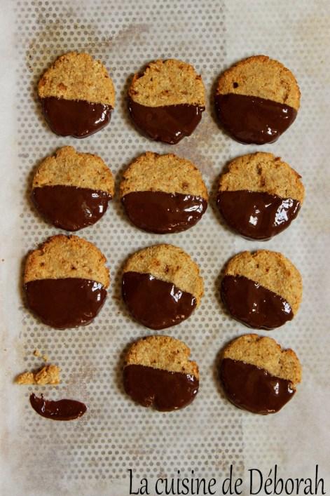 Biscuits à l'okara la cuisine de deborah