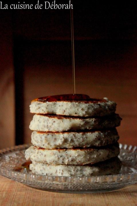 Pancakes vegan cuisine de deborah