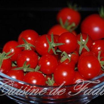 Mes tomates cerises