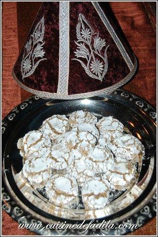 Ghoriba aux noix de ma Maman (ghriba)