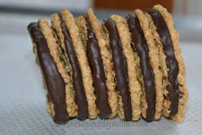 Biscuits aux flocons d'avoine et au chocolat