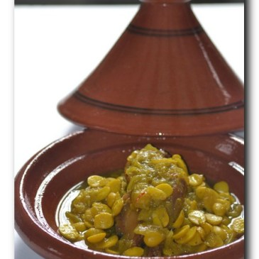Tajine de coquelet et amande au safran ou tajine Kedra