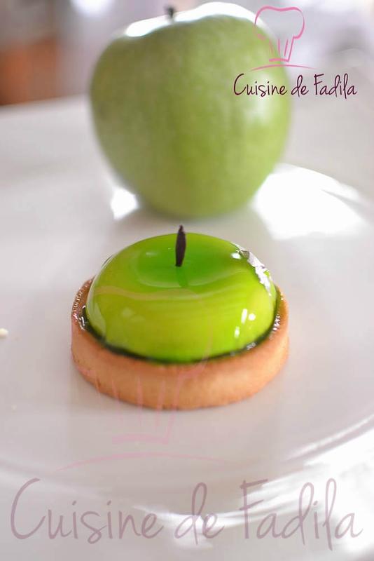 Croquez la pom' : Tartelette Granny Smith - cuisine de Fadila