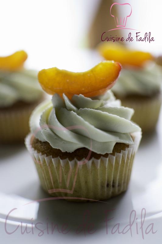 Cupcake abricot citronnelle