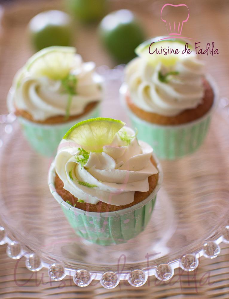 Cupcakes au citron vert et ganache mont e au citron vert for Video de cuisine youtube