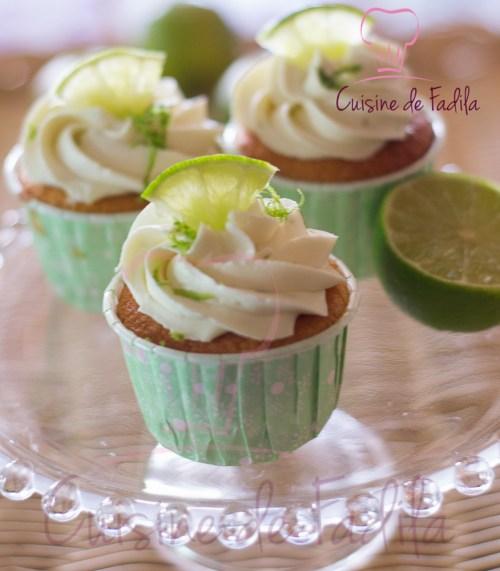 cupcake au citron vert
