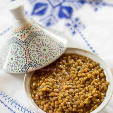 Lentilles à la Marocaine: recette en vidéo