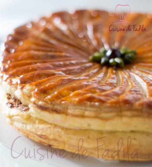 galette pistache griotte