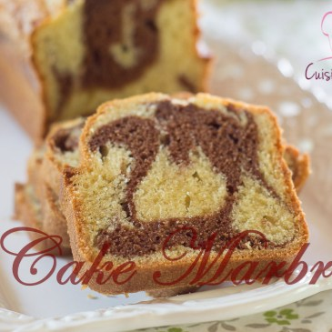 Cake marbré facile: recette en vidéo