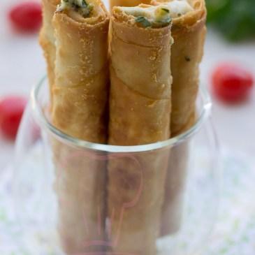 Sigara Böreği ou Cigare au fromage: recette en vidéo