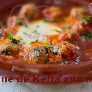 Tajine de Kefta aux œufs