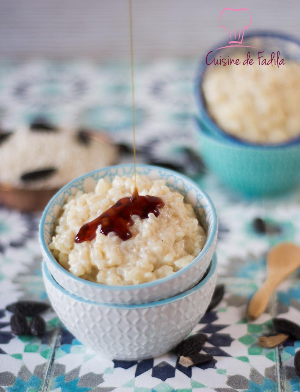 riz au lait à la fève tonka