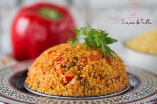 Boulgour la turque bulgur pilavi - Recettes de cuisine turque ...