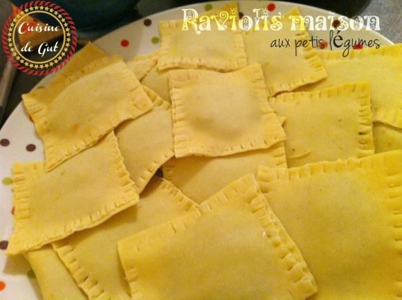 Raviolis avant cuisson
