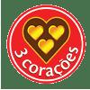 3 Corações Logo