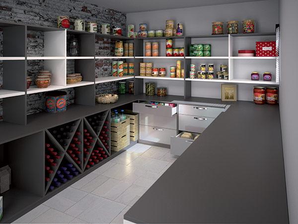 cellier cuisine hb design